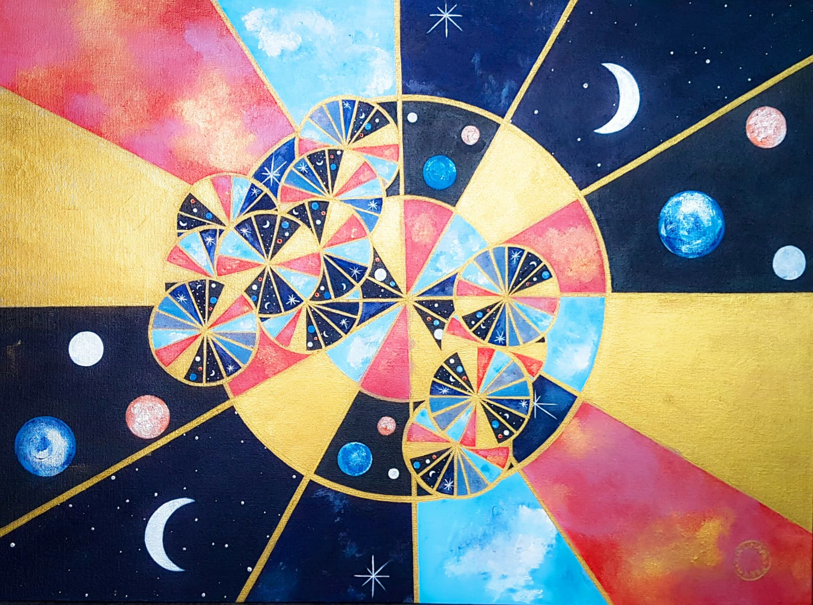 Work-1Cogs of Time. 67x51.5cm (1)